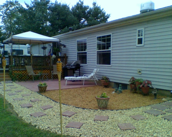 landscaping area landscaping ideas for mobile homes pictures