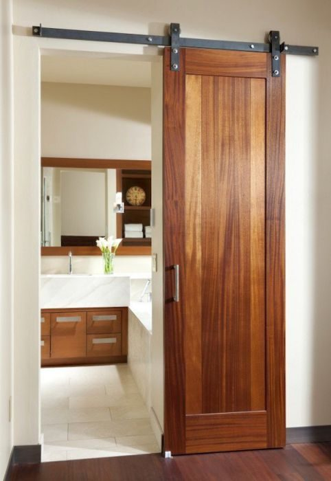 Barn doors are one of our Favorite Remodeling and Decorating Ideas for Manufactured Homes