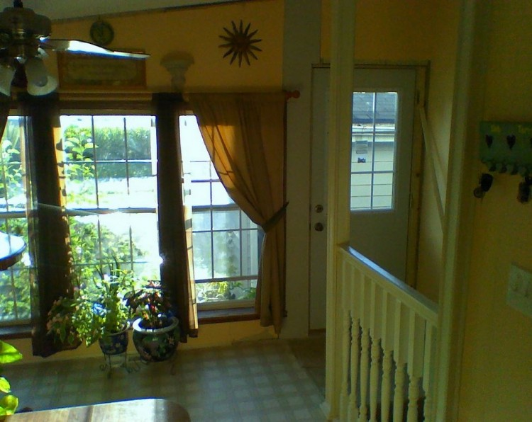 basement entrance in manufactured home