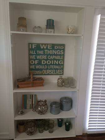 beach cottage decor in mobile home