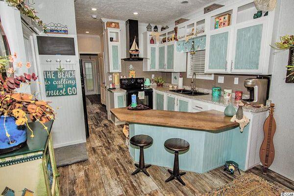 beach theme decor-2017 kitchen