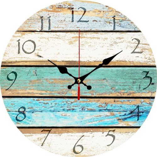 beach theme decor-clock