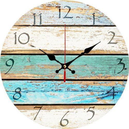 beach theme decor-clock