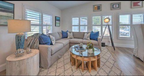 beach theme decor-transformation living room