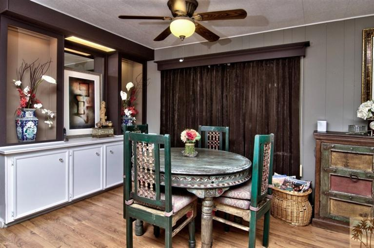beautiful manufactured home tour - dining room 3