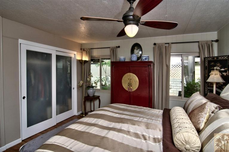 beautiful manufactured home tour - master bedroom 2