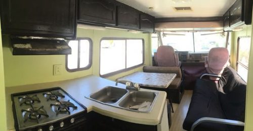 Motorhome rv makeover - interior before