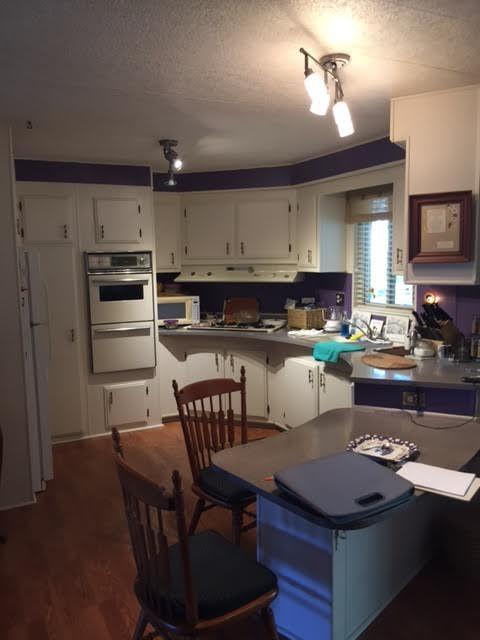 modern manufactured home kitchen remodel