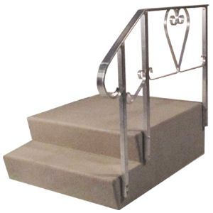 best mobile home steps on the market dura grip 2 step