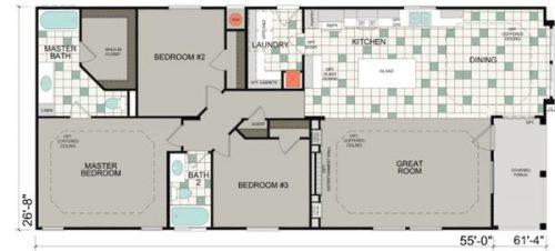 ... Best New Manufactured Home Design Floor Plan