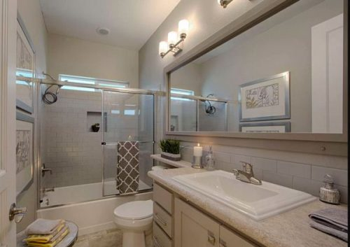 best new manufactured home design-guest bathroom
