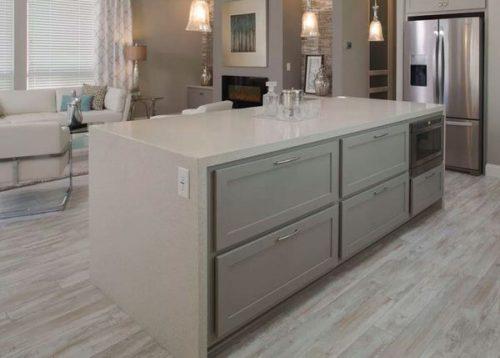 best new manufactured home design-kitchen island storage