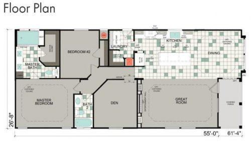 best new manufactured home design-optional floor plan