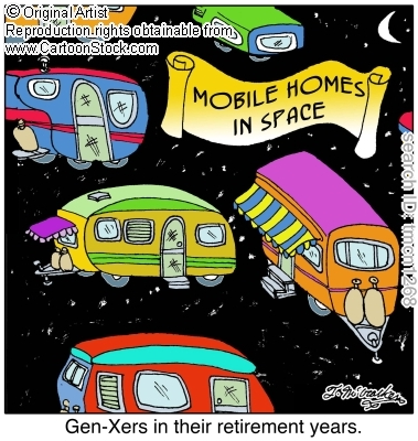 mobile home funnies-space ad
