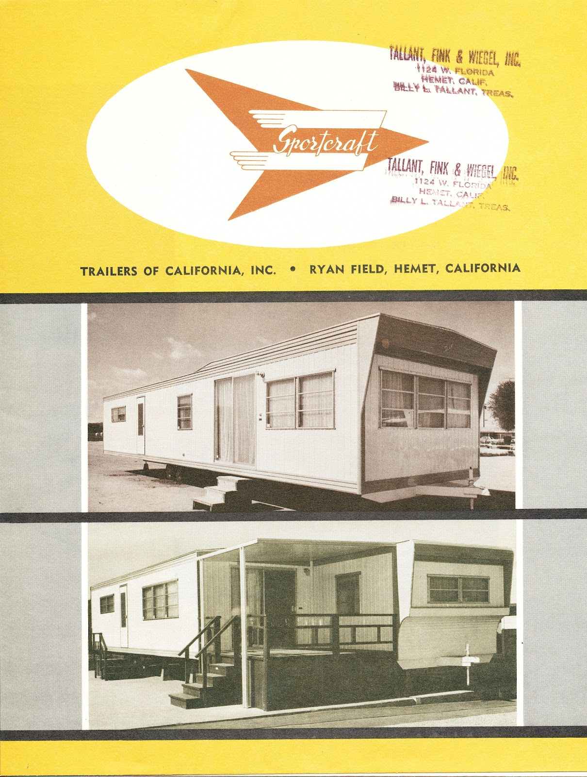 Vintage mobile home ads for Mobel vintage retro