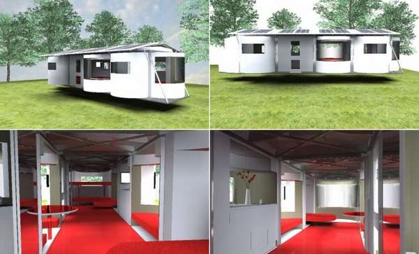 Awesome Modern Design Mobile Homes Pictures Decorating Design