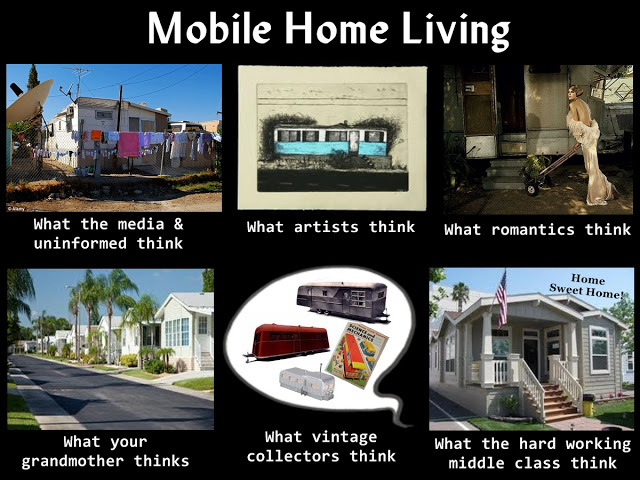 Living in a manufactured home