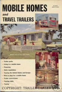 mobile home funnies-vintage ad