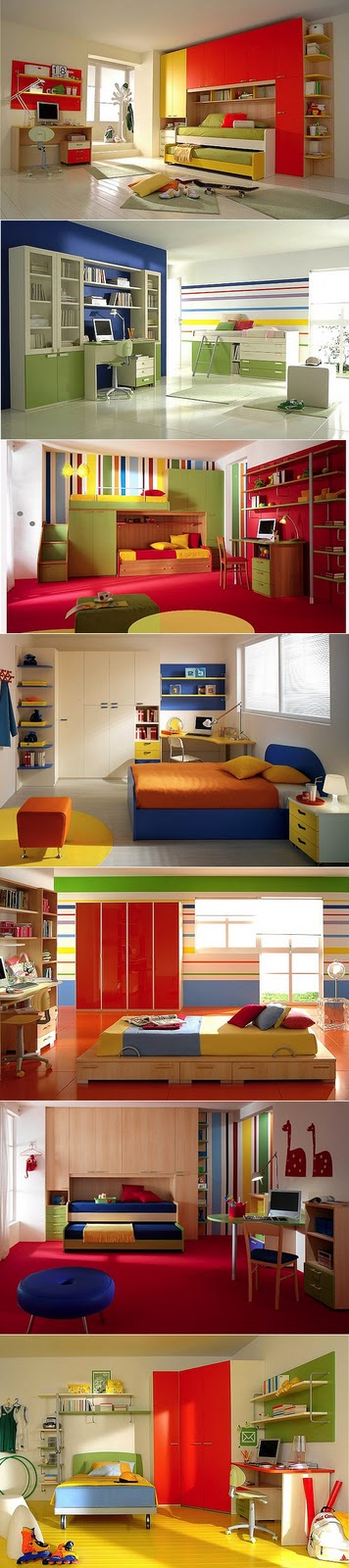 mobile home bedroom decorating ideas-colorful bedrooms