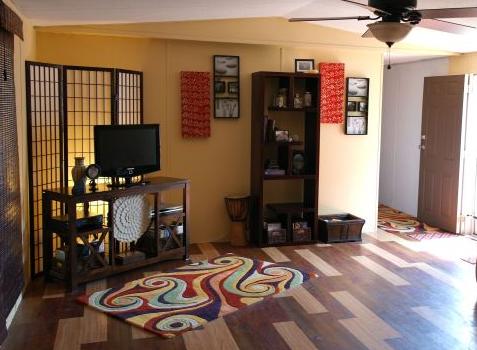 Favorite craigslist mobile home finds - living room