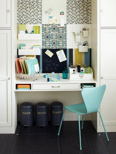 Great Home office ideas for small mobile homes - cute cubby