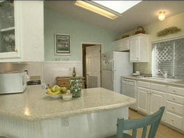 double wide home decorating ideas-beach cottage double wide mobile home kitchen