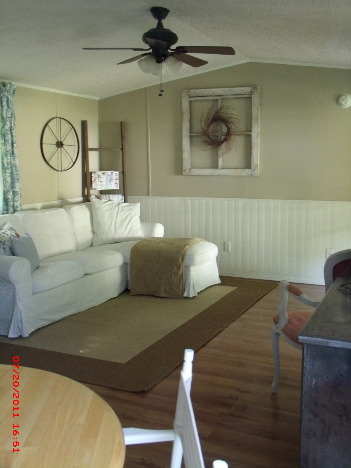 mobile home living room decorating ideas momma hen s beautiful single wide makeover 24493