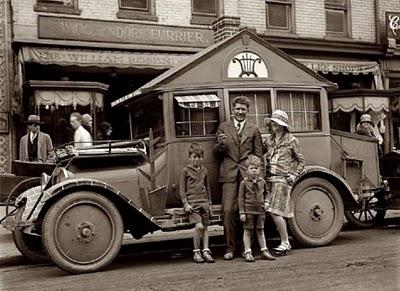 1900s mobile home