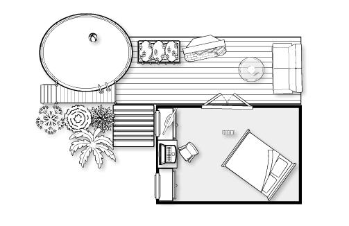 planned bedroom remodel
