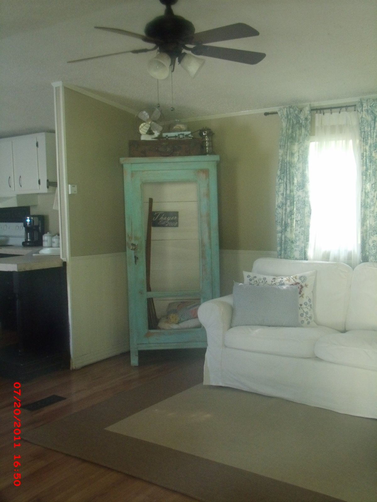 Momma hen 39 s beautiful single wide makeover - Mobile home decorating ideas image ...
