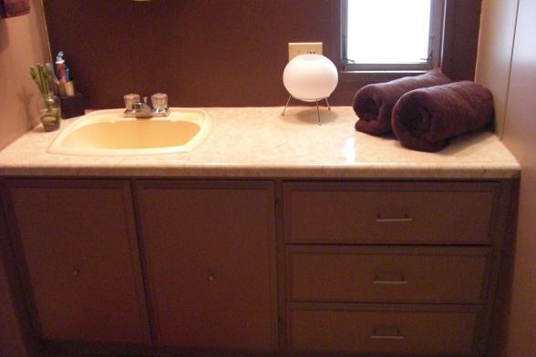single wide makeover- sink