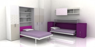 mobile home bedroom decorating ideas-convertible beds