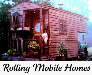 Drivable Vintage Mobile Homes