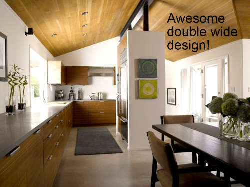 this is a gorgeous design that could work in a manufactured home