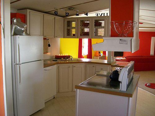 single wide makeover-kitchen