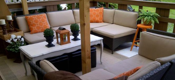 Amazing mobile home-patio