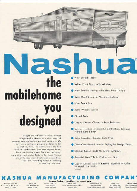 Vintage Mobile Home Ads 1