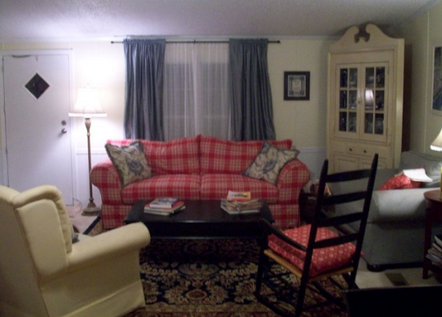 French country double wide manufactured home makeover