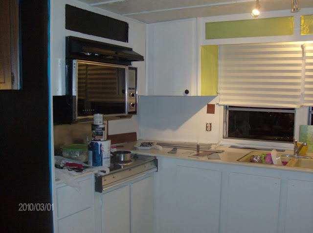 Mobile Home Kitchen Update 3