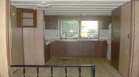 Mobile Home Kitchen Update 1