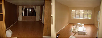 amazing mobile home-before and after