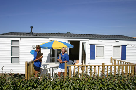 typical european mobile home