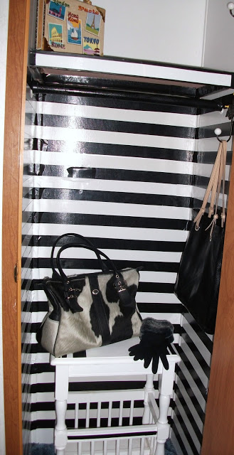 mobile home closet ideas-finished closet
