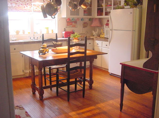 Farmhouse - country chic Double Wide Kitchen Makeover