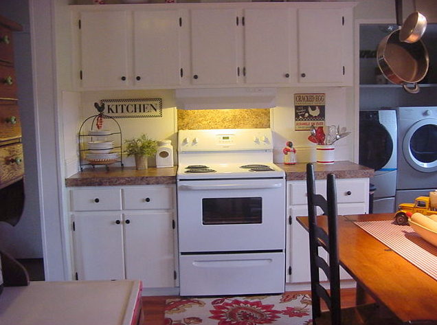 farmhouse style Double Wide Kitchen Makeover