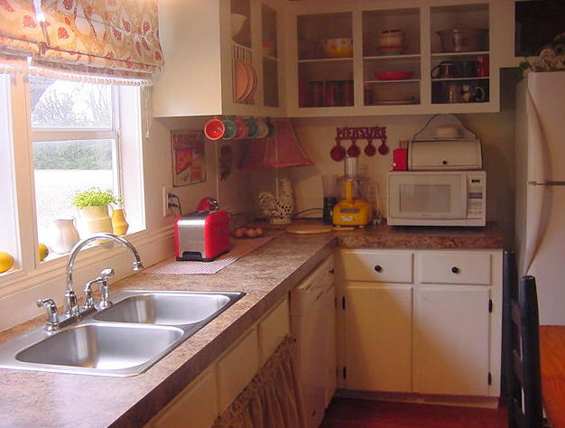 Spectacular double wide kitchen makeover for Double wide kitchen remodel