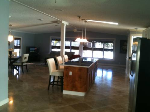 manufactured home remodel