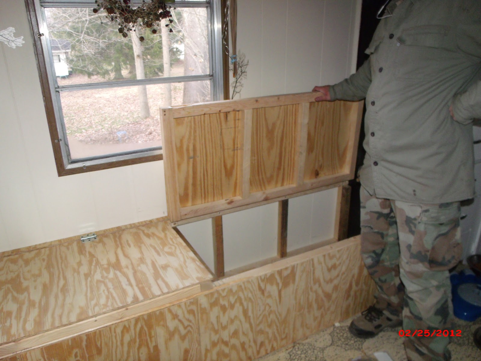 Creating Storage In A Mobile Home Our New Window Seat