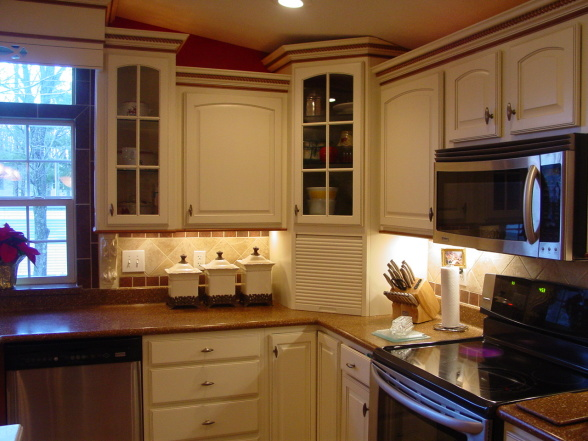 another great double wide kitchen remodel - Mobile Home Kitchen Designs