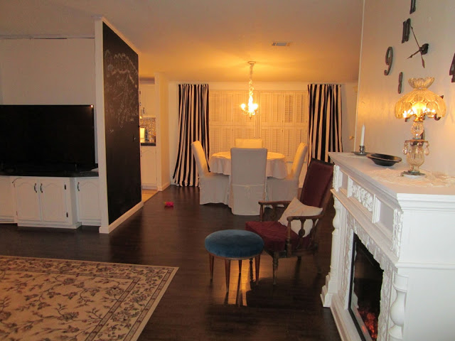 manufactured home-interior after